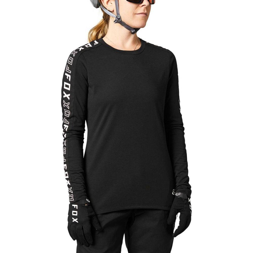 期間限定の激安セール フォックス レーシング レディース 自転車 トップス Black サイズ交換無料 Fox Long Release Dri Jersey Sleeve Ranger 開店祝い - Racing
