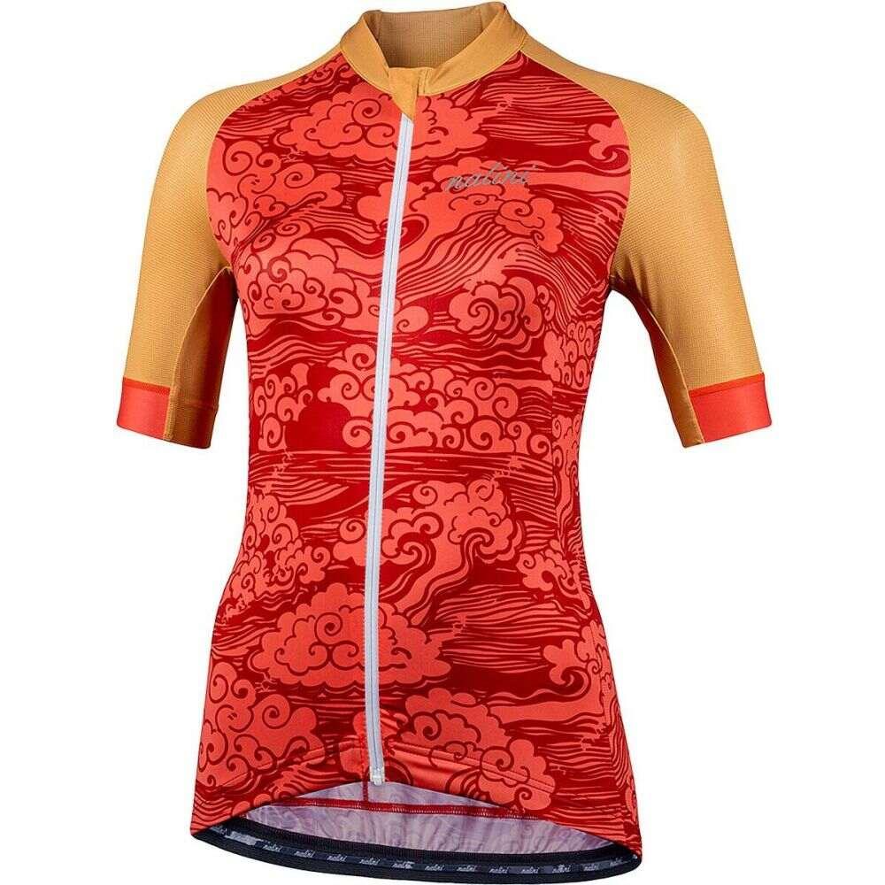ナリーニ レディース 自転車 トップス Red Orange Beijing2008 Jersey セール特別価格 100%品質保証 Bas サイズ交換無料 Nalini