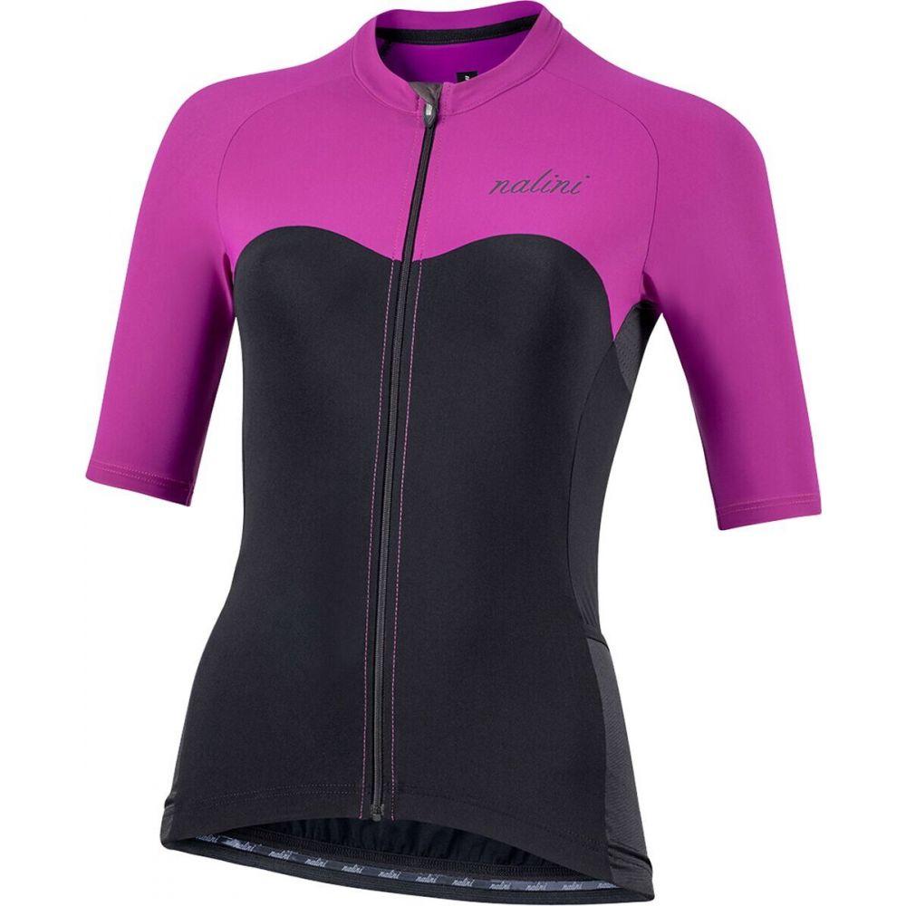 ナリーニ レディース 日本メーカー新品 自転車 トップス Black Violet Sensitive 好評受付中 Jersey Nalini Sun Bas Block サイズ交換無料