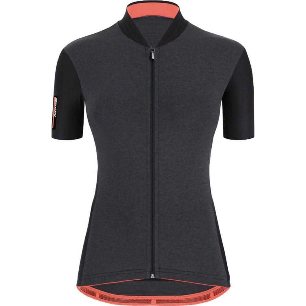 お洒落 サンティーニ レディース 自転車 トップス Nero Jersey Santini 当店一番人気 Colore サイズ交換無料