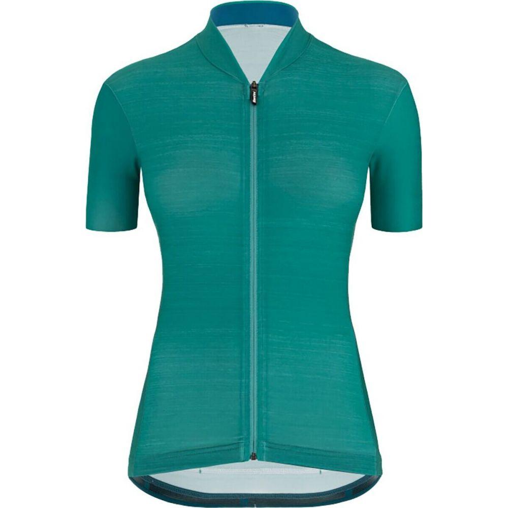 サンティーニ レディース 自転車 トップス 受賞店 Teal 限定特価 Jersey サイズ交換無料 Colore Santini
