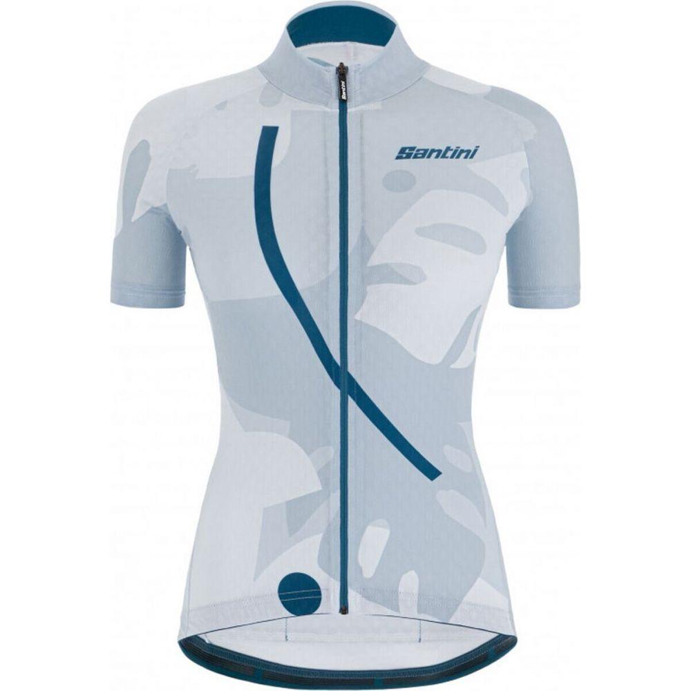 サンティーニ レディース 予約 自転車 結婚祝い トップス Silver Bullet Jersey Santini Maui Giada サイズ交換無料
