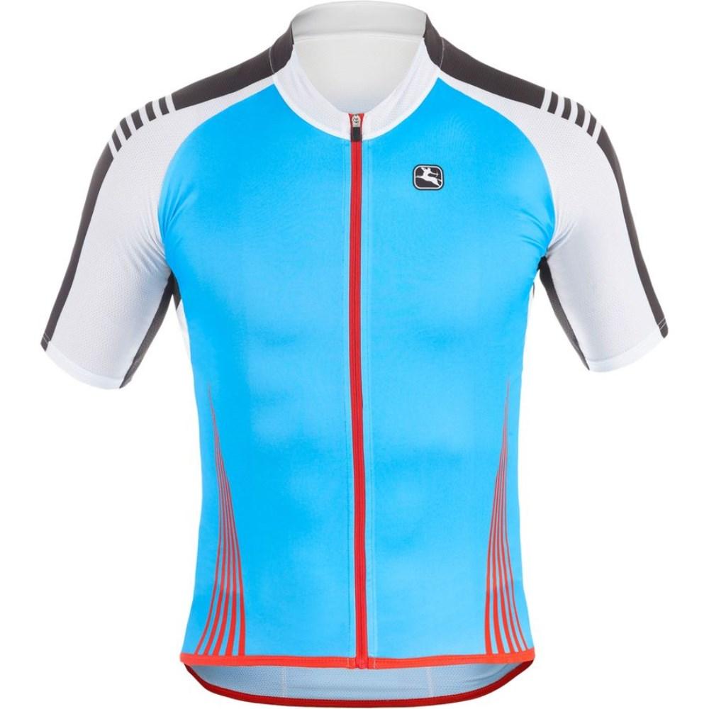 ジョルダーノ Giordana メンズ サイクリング ウェア【Sahara Jersey】Blue Fluo/White/Black/Red