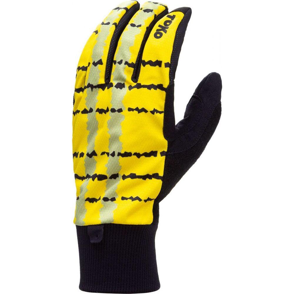 トコ メンズ 通常便なら送料無料 ファッション小物 ふるさと割 手袋 グローブ Black Yellow Classic Toko サイズ交換無料 Glove