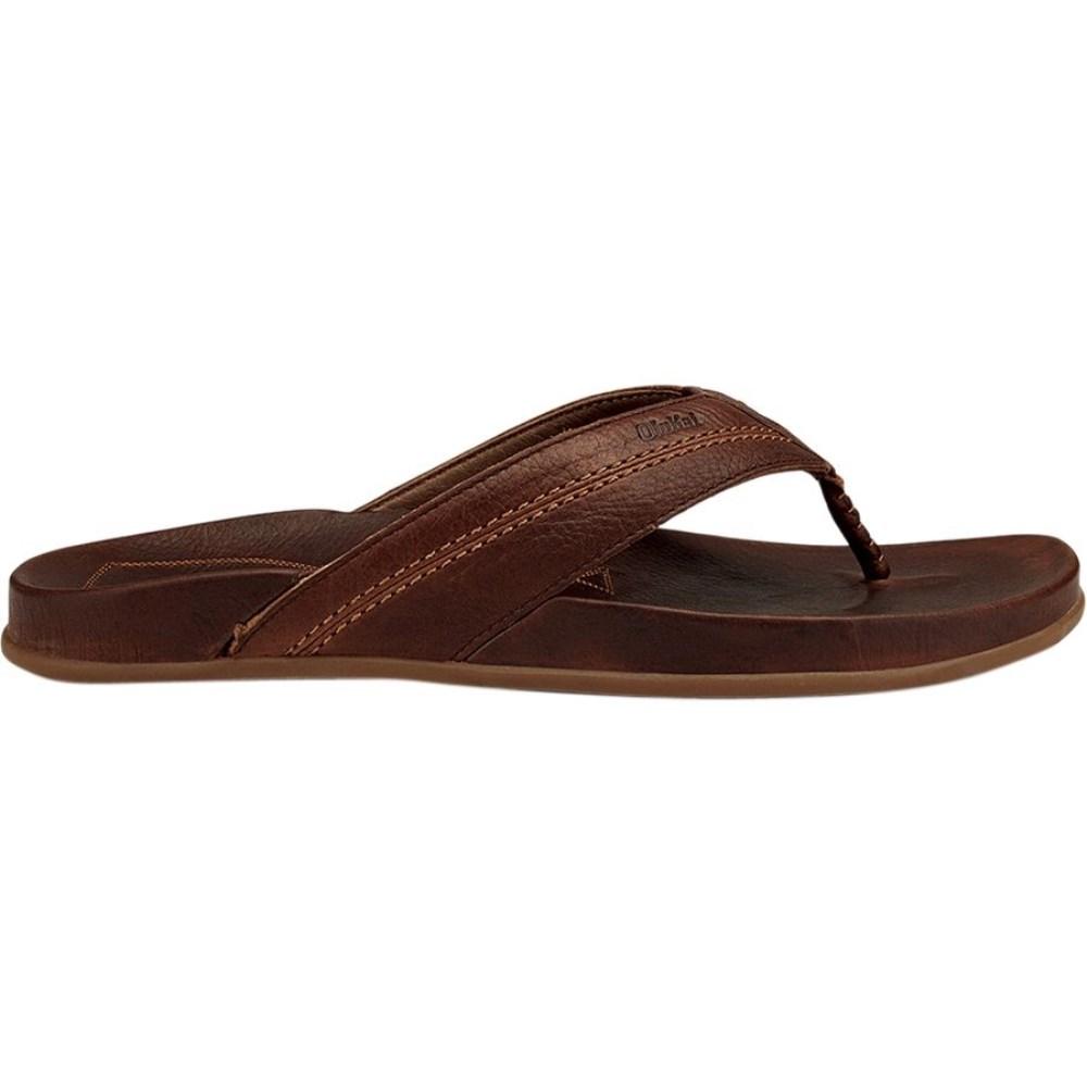 オルカイ Olukai メンズ シューズ・靴 ビーチサンダル【Mohalu Flip Flop】Teak/Teak