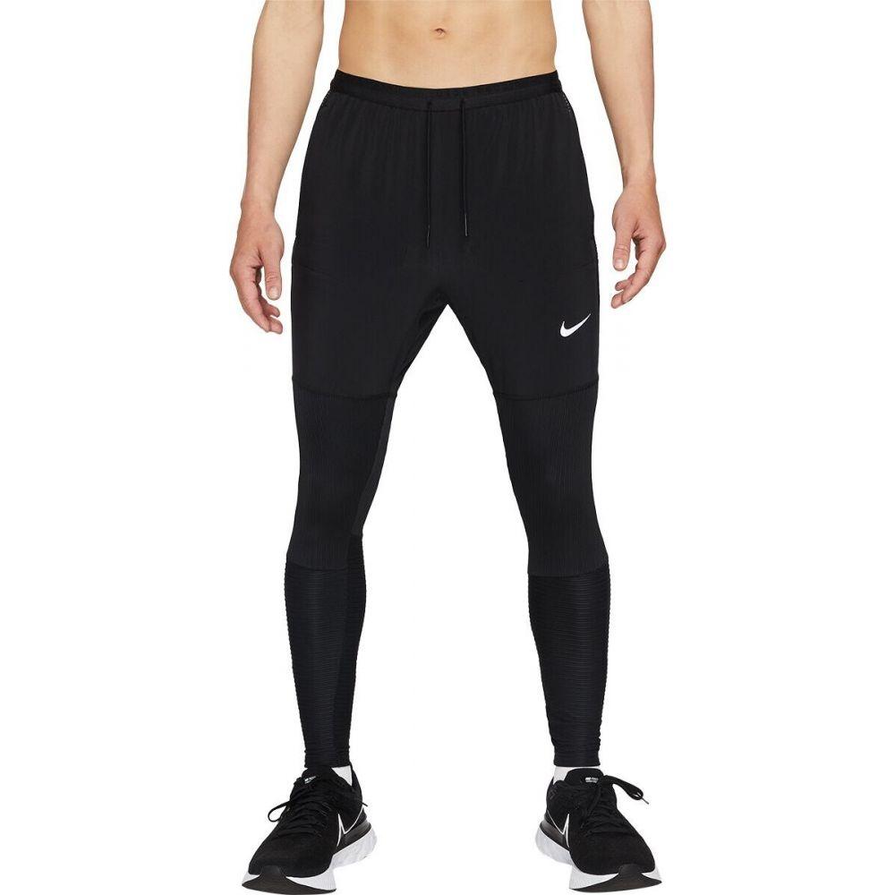ナイキ メンズ ランニング・ウォーキング ボトムス・パンツ Black/Black/Reflective Silver 【サイズ交換無料】 ナイキ Nike メンズ ランニング・ウォーキング ドライフィット ボトムス・パンツ【Dri-FIT Phenom Run Division Hybrid Pant】Black/Black/Reflective Silver