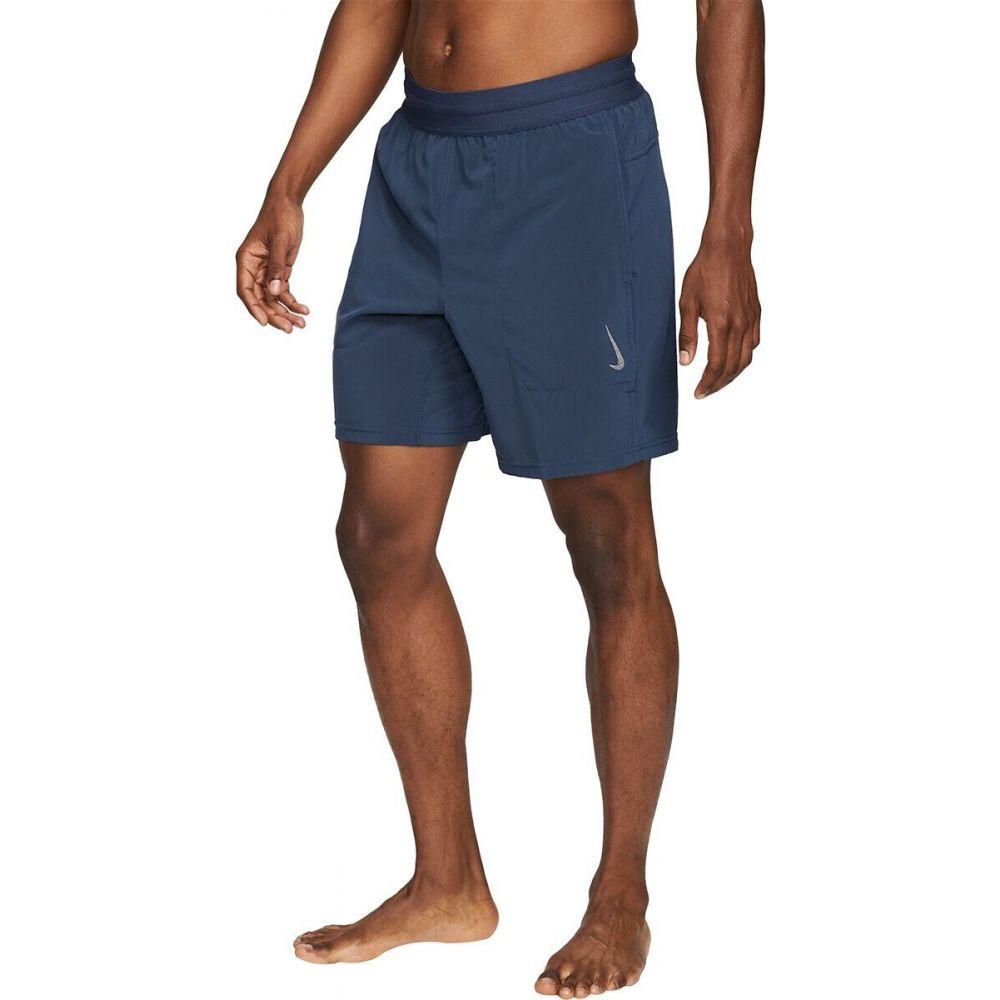 ナイキ メンズ ヨガ ピラティス ボトムス パンツ 定番から日本未入荷 Midnight Navy Gray Nike ショートパンツ Dri-Fit Flex Short 格安店 ドライフィット Yoga サイズ交換無料