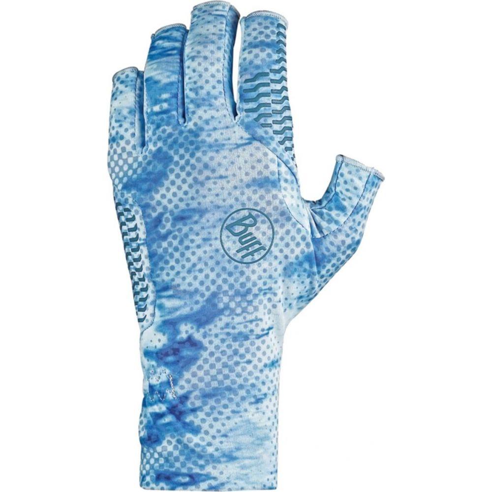 バフ 倉庫 メンズ ファッション小物 手袋 グローブ Camo Glove Buff Aqua サイズ交換無料 Blue 今だけ限定15%OFFクーポン発行中