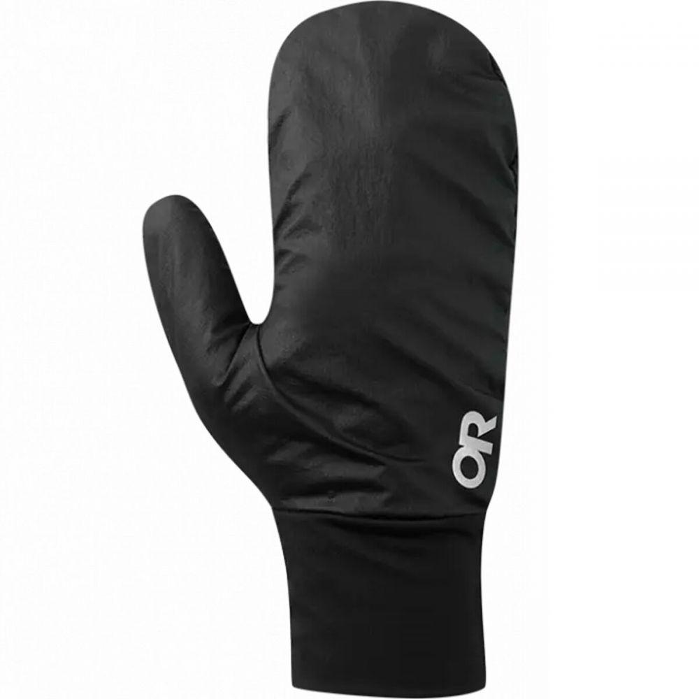アウトドアリサーチ ユニセックス ファッション小物 手袋 グローブ Black 大放出セール サイズ交換無料 期間限定 Helium Liner Research Wind Convertible Glove Outdoor
