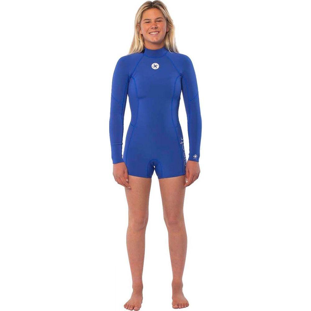 ヴィスラ レディース お得 水着 ビーチウェア ウェットスーツ Bright Blue サイズ交換無料 Sisstr Revolution Summer Sleeve One Piece 買収 Long 2mm 2 Wetsuit Seas