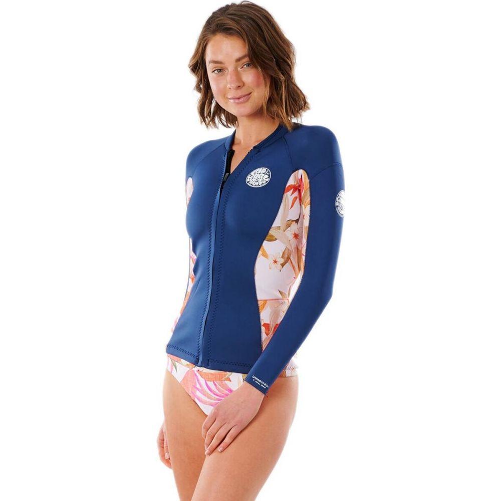 リップカール レディース 水着 アウトレットセール 特集 ビーチウェア ウェットスーツ Pink 超激安 サイズ交換無料 Rip Patrol Long-Sleeve Jacket Wetsuit ジャケット Curl Dawn 1.5mm