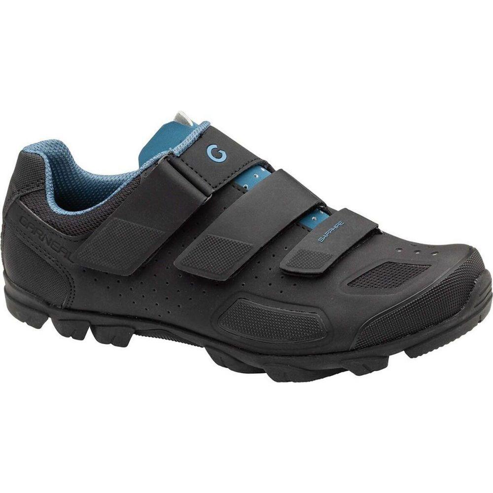ルイガノ レディース 自転車 シューズ・靴 Black 【サイズ交換無料】 ルイガノ Louis Garneau レディース 自転車 マウンテンバイク シューズ・靴【Sapphire II Mountain Bike Shoe】Black