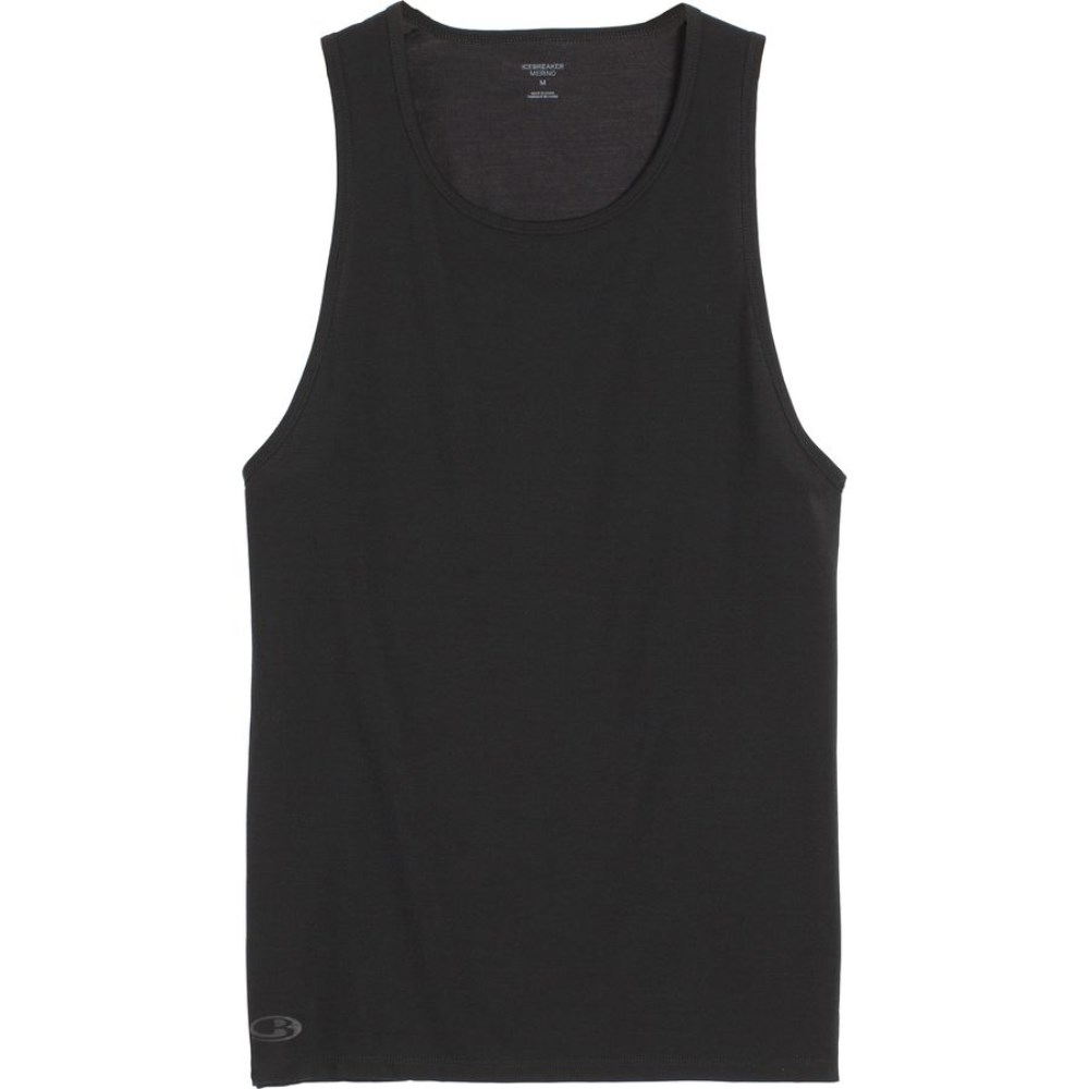 アイスブレーカー Icebreaker メンズ スノー ウェア【BodyFit 150-Ultralite Anatomica Tank Top】Black/Monsoon