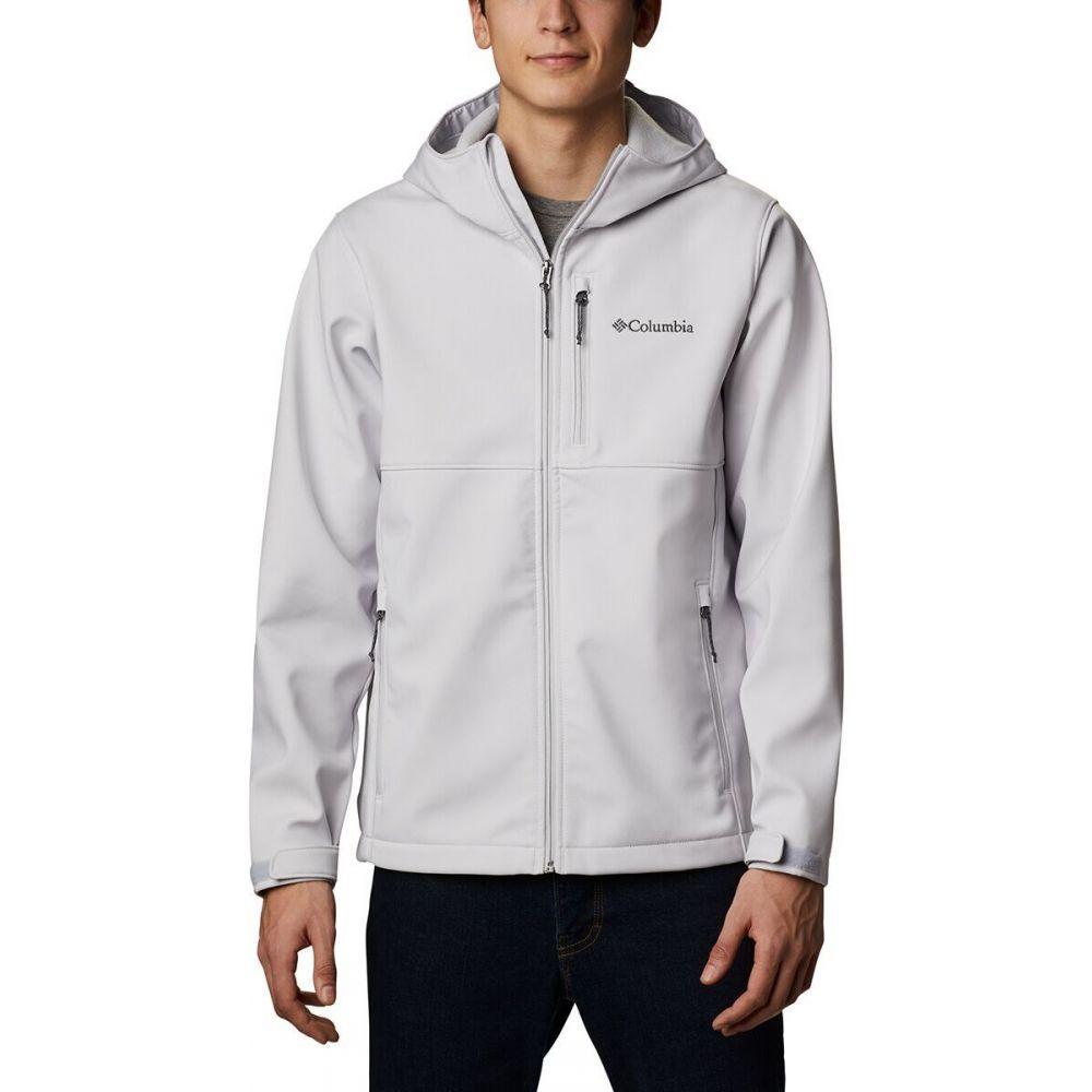 コロンビア メンズ アウター ジャケット Nimbus Grey 与え サイズ交換無料 フード Jacket Softshell Hooded Ascender Columbia 予約販売 ソフトシェルジャケット
