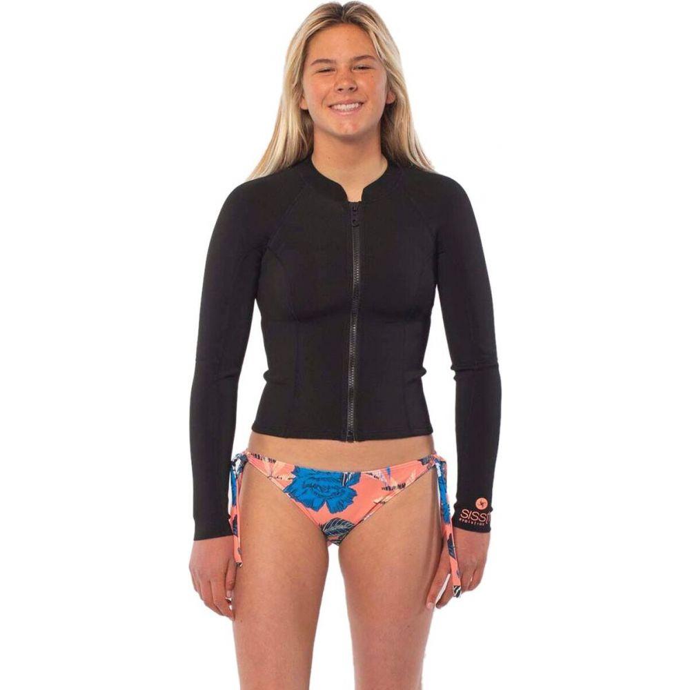 ヴィスラ レディース 水着 ビーチウェア ウェットスーツ Solid 超安い Black Seas Sisstr Revolution サイズ交換無料 ジャケット Summer 新色追加して再販 Jacket