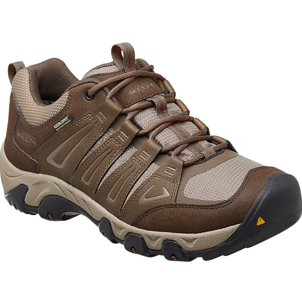 キーン KEEN メンズ 登山 シューズ・靴【Oakridge WP Hiking Shoe】Cascade/Brindle
