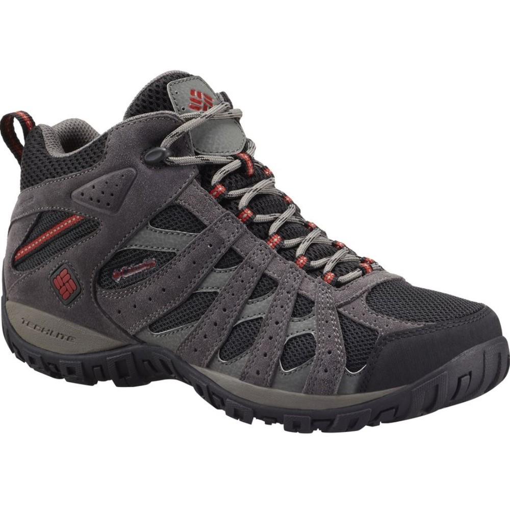 コロンビア Columbia メンズ 登山 シューズ・靴【Redmond Mid Waterproof Hiking Boot】Black/Gypsy