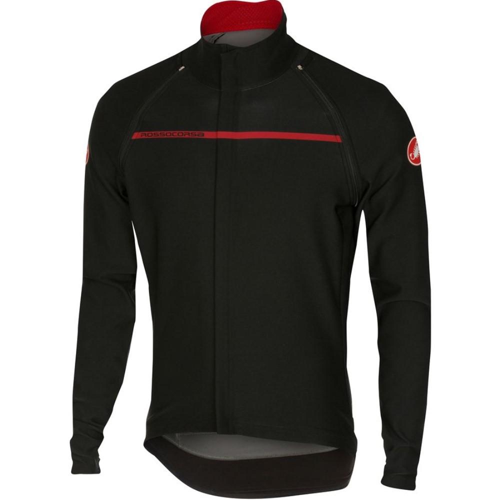 カステリ Castelli メンズ サイクリング ウェア【Perfetto Convertibile Jacket】Black