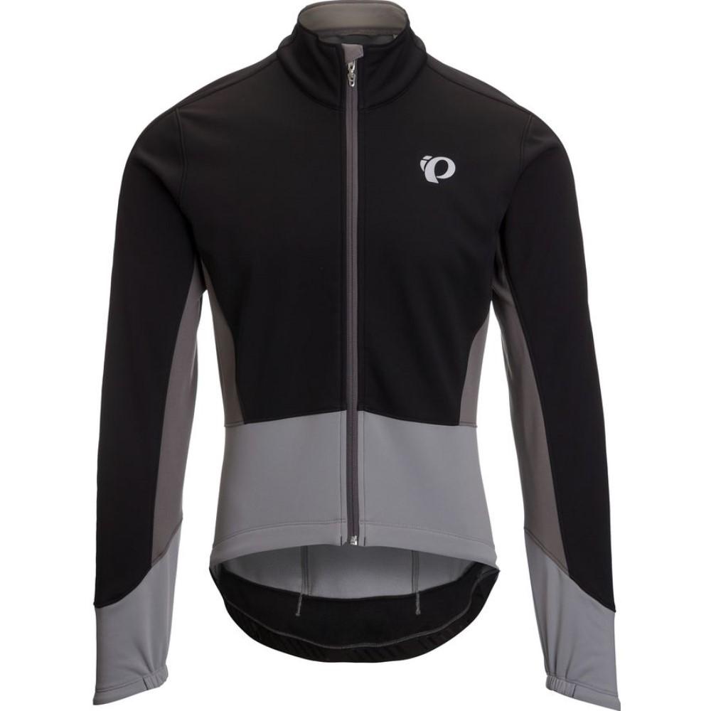 パールイズミ Pearl Izumi メンズ サイクリング ウェア【ELITE Pursuit Softshell Jacket】Black/Monument Grey
