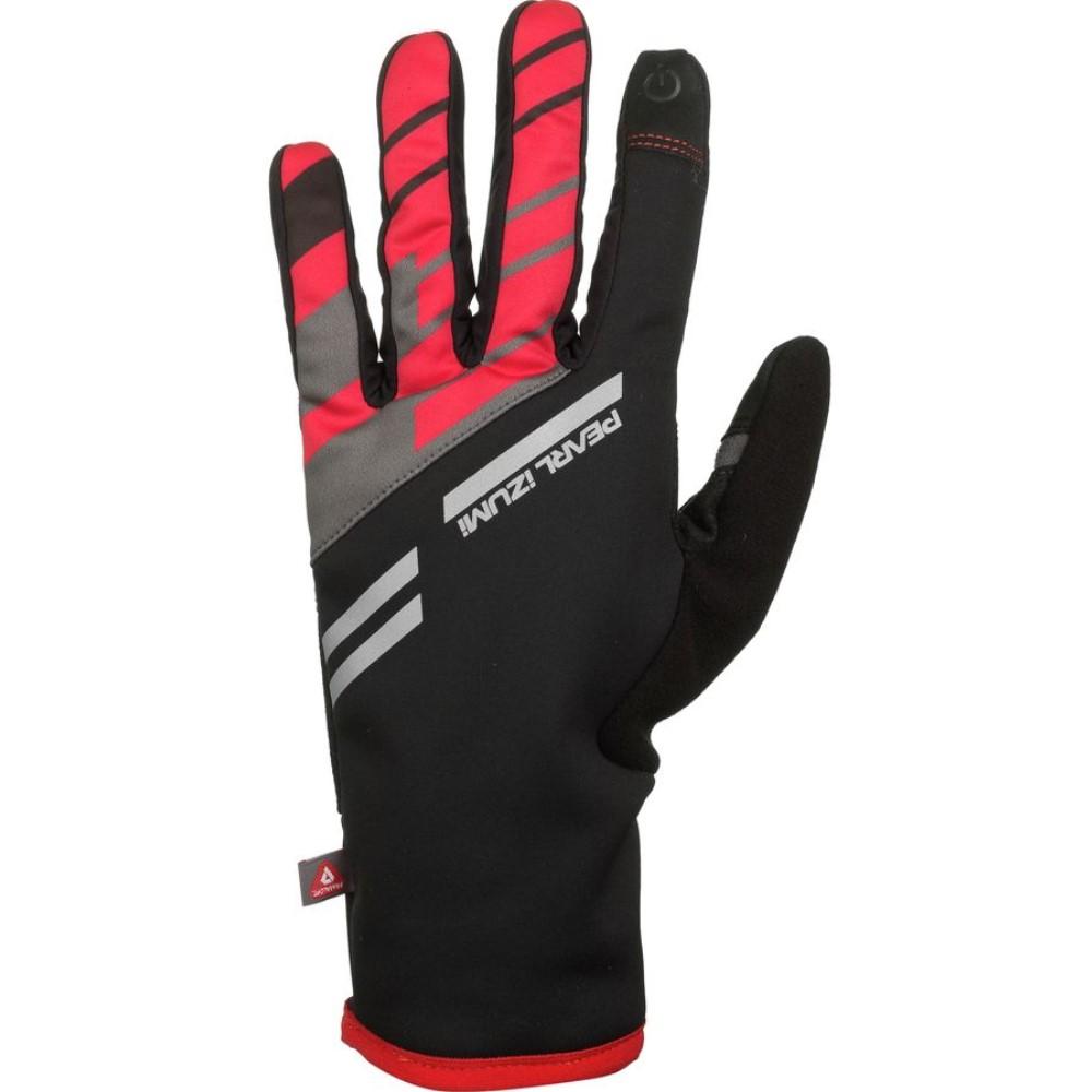 パールイズミ Pearl Izumi メンズ サイクリング グローブ【P.R.O. Softshell Lite Gloves】True Red