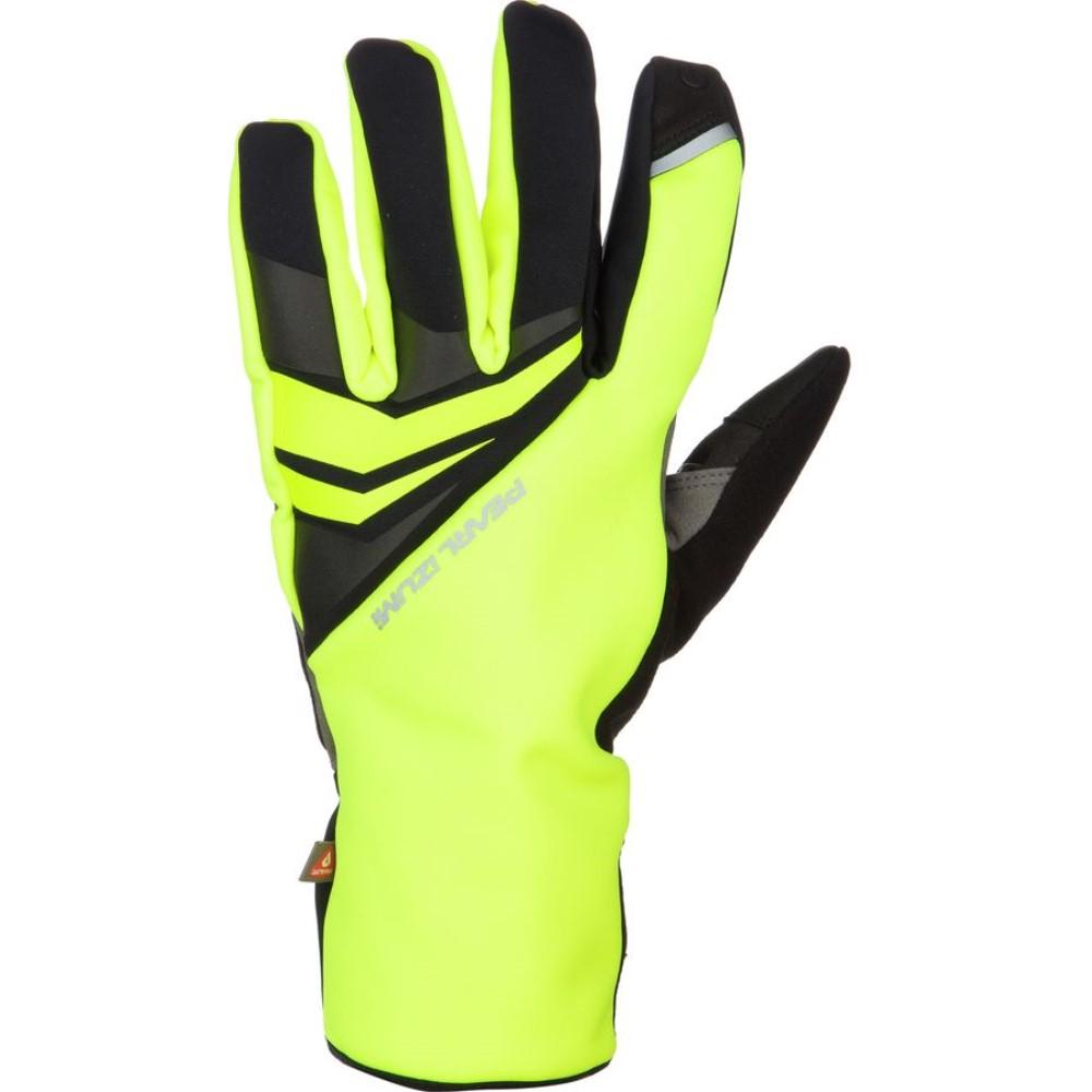 パールイズミ Pearl Izumi メンズ サイクリング グローブ【Elite Softshell Gel Glove】Screaming Yellow