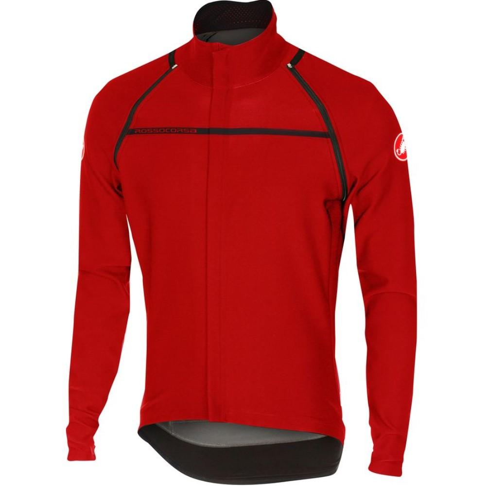 カステリ Castelli メンズ サイクリング ウェア【Perfetto Convertibile Jacket】Red