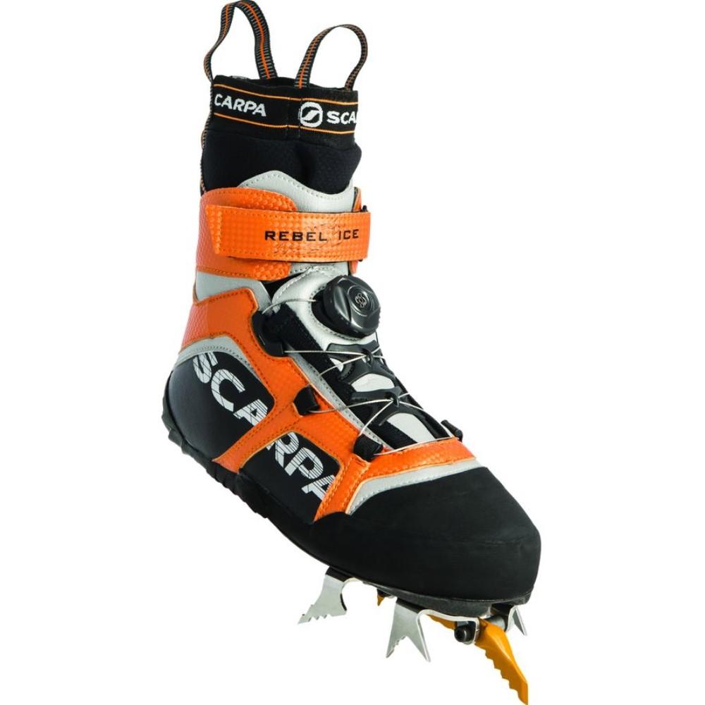 格安即決 スカルパ スカルパ Scarpa メンズ 登山 シューズ・靴 Boot】Black/Orange【Rebel 登山 Ice Boot】Black/Orange, ココチヤ:de0dee67 --- canoncity.azurewebsites.net