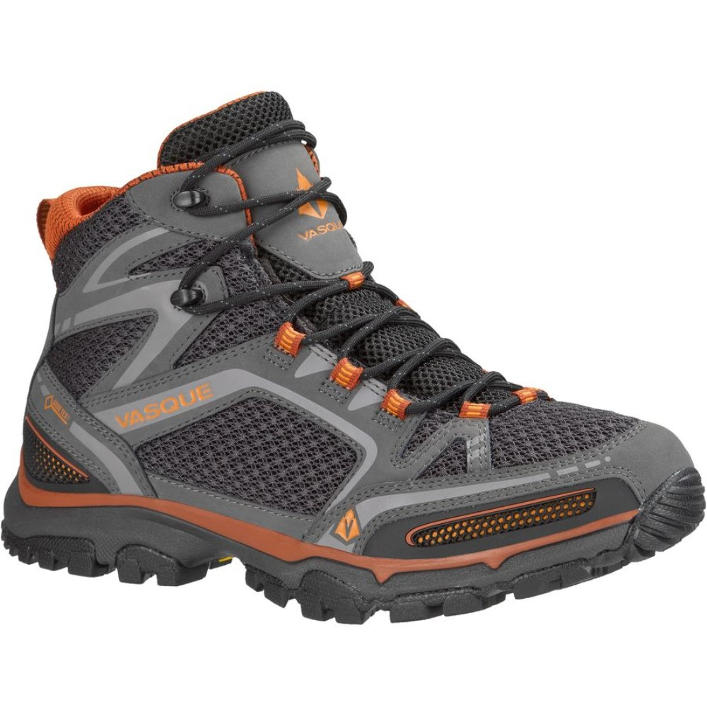 バスク Vasque メンズ 登山 シューズ・靴【Inhaler II GTX Hiking Boot】Magnet/Orange