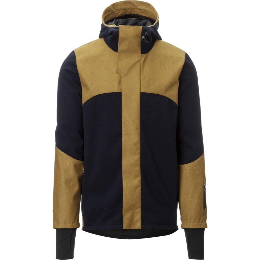 ダールオブノルウェイ Dale of Norway メンズ スノーボード ウェア【Stryn Knitshell Jacket】Navy/Mustard