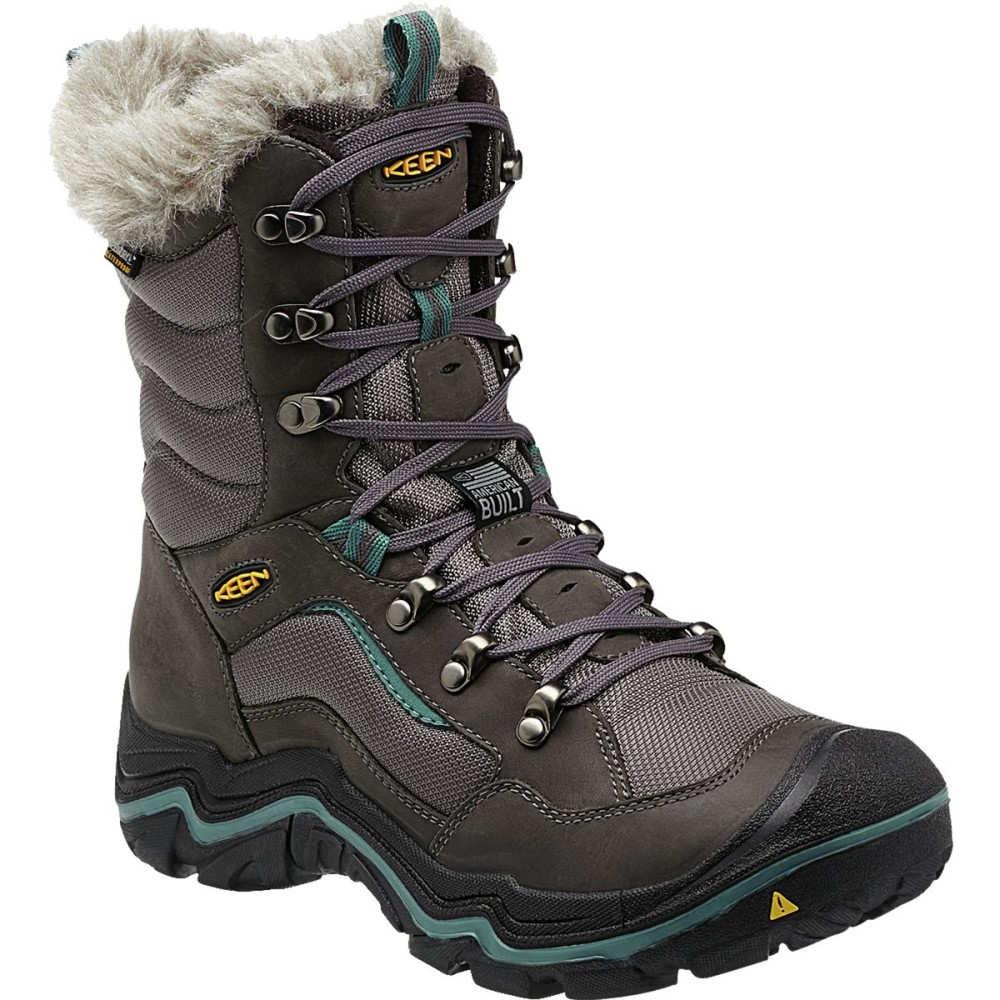 キーン KEEN レディース スノー シューズ・靴【Durand Polar Boot】Magnet/Mineral Blue