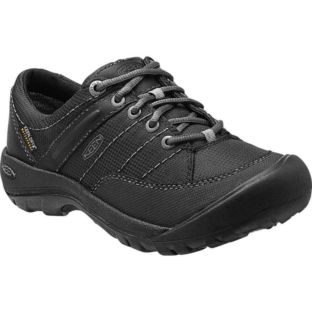 キーン KEEN レディース ハイキング シューズ・靴【Presidio Sport Mesh Waterproof Shoe】Black