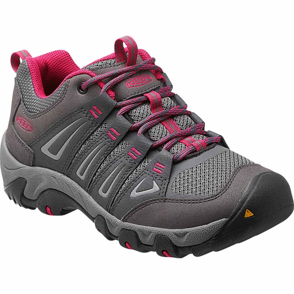 キーン KEEN レディース ハイキング シューズ・靴【Oakridge Hiking Shoe】Magnet/Rose