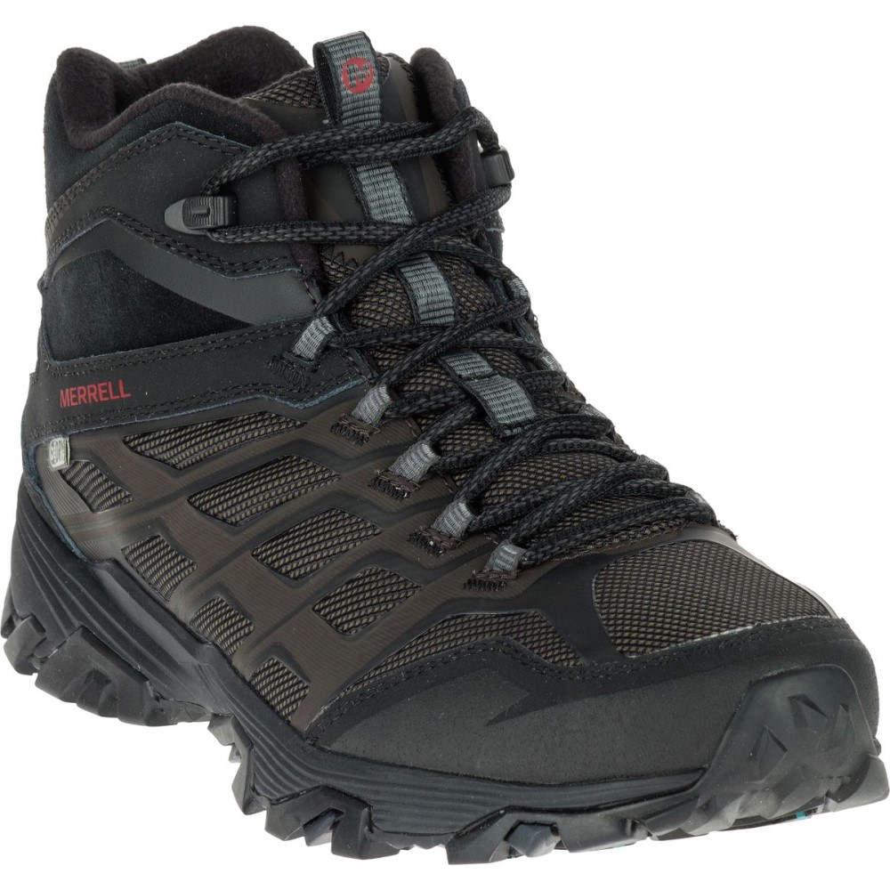メレル Merrell メンズ ハイキング シューズ・靴【Moab FST Ice Plus Thermo Hiking Boot】Black