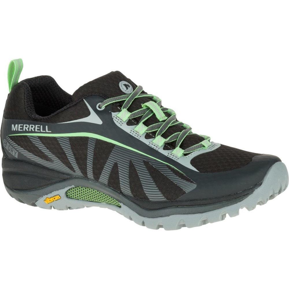 【激安大特価!】  メレル Merrell Merrell レディース ハイキング シューズ・靴【Siren メレル ハイキング Edge Waterproof Hiking Shoe】Black/Paradise, イチキチョウ:6f257e8f --- zemaite.lt