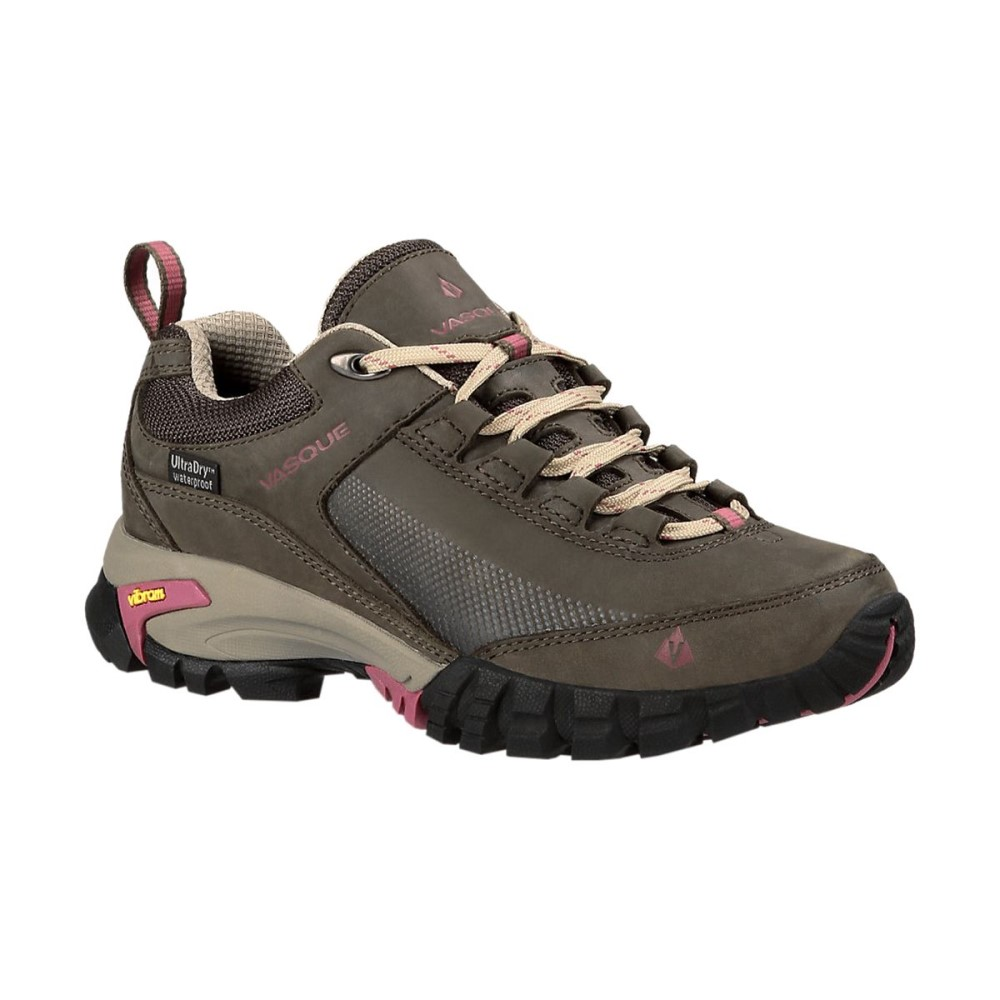 バスク Vasque レディース ハイキング シューズ・靴【Talus Trek Low UltraDry Hiking Shoe】Olive/Damson