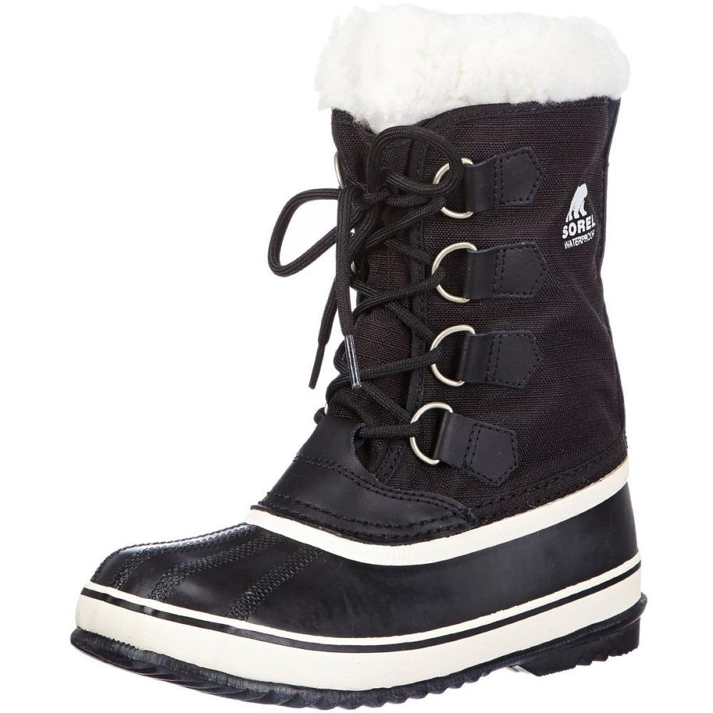 ソレル Sorel レディース スノー シューズ・靴【Winter Carnival Boot】Black/Stone