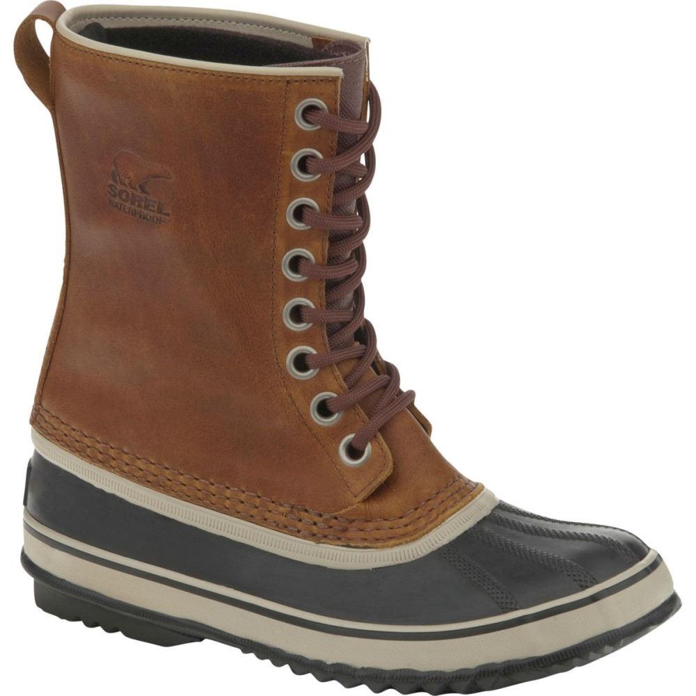 【送料関税無料】 ソレル Sorel Premium レディース スノー シューズ・靴 Leather【1964 Premium スノー Leather Boot】Cappuccino/Oxford Tan, 名刺印刷年賀状なら-印刷の王様-:dc1685b3 --- canoncity.azurewebsites.net