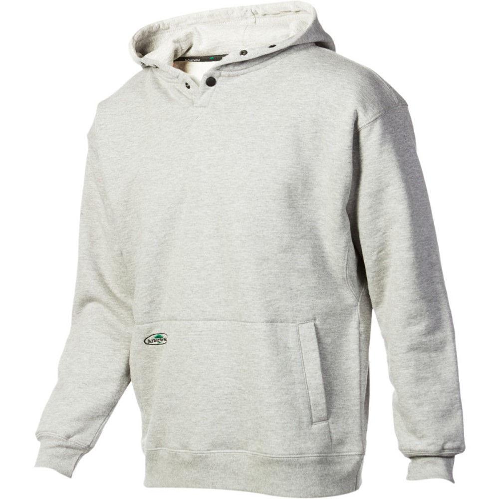 アーバーウェア Arborwear メンズ フィットネス ウェア【Double Thick Pullover Hoodie】Athletic Grey