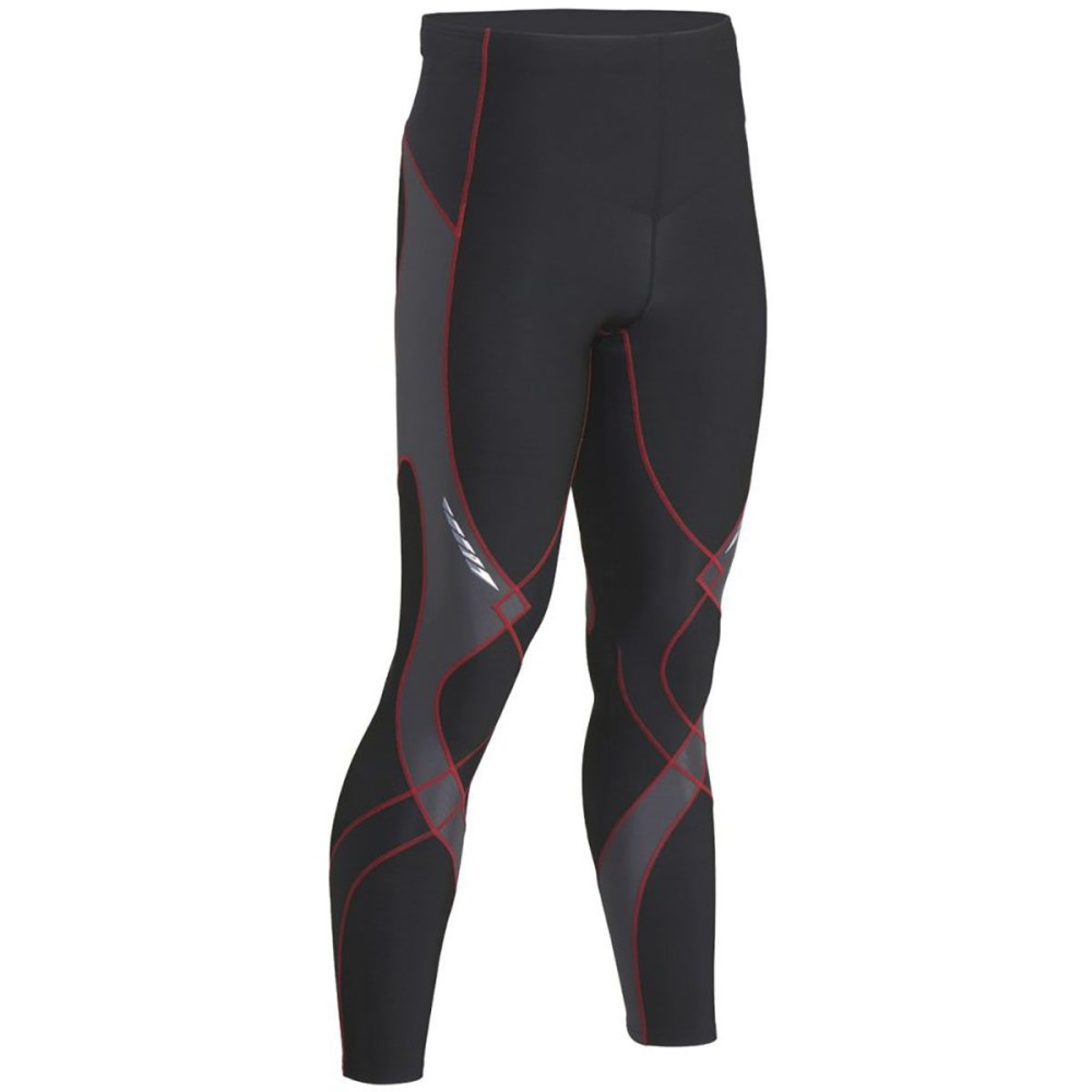 CW-X CW-X メンズ フィットネス ウェア【Insulator Stabilyx Tight】Black/Grey/Red
