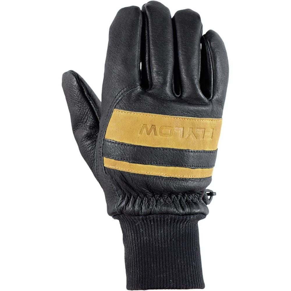 フライロウ ギア FlyLow Gear メンズ スキー グローブ【Ridge Glove】Black