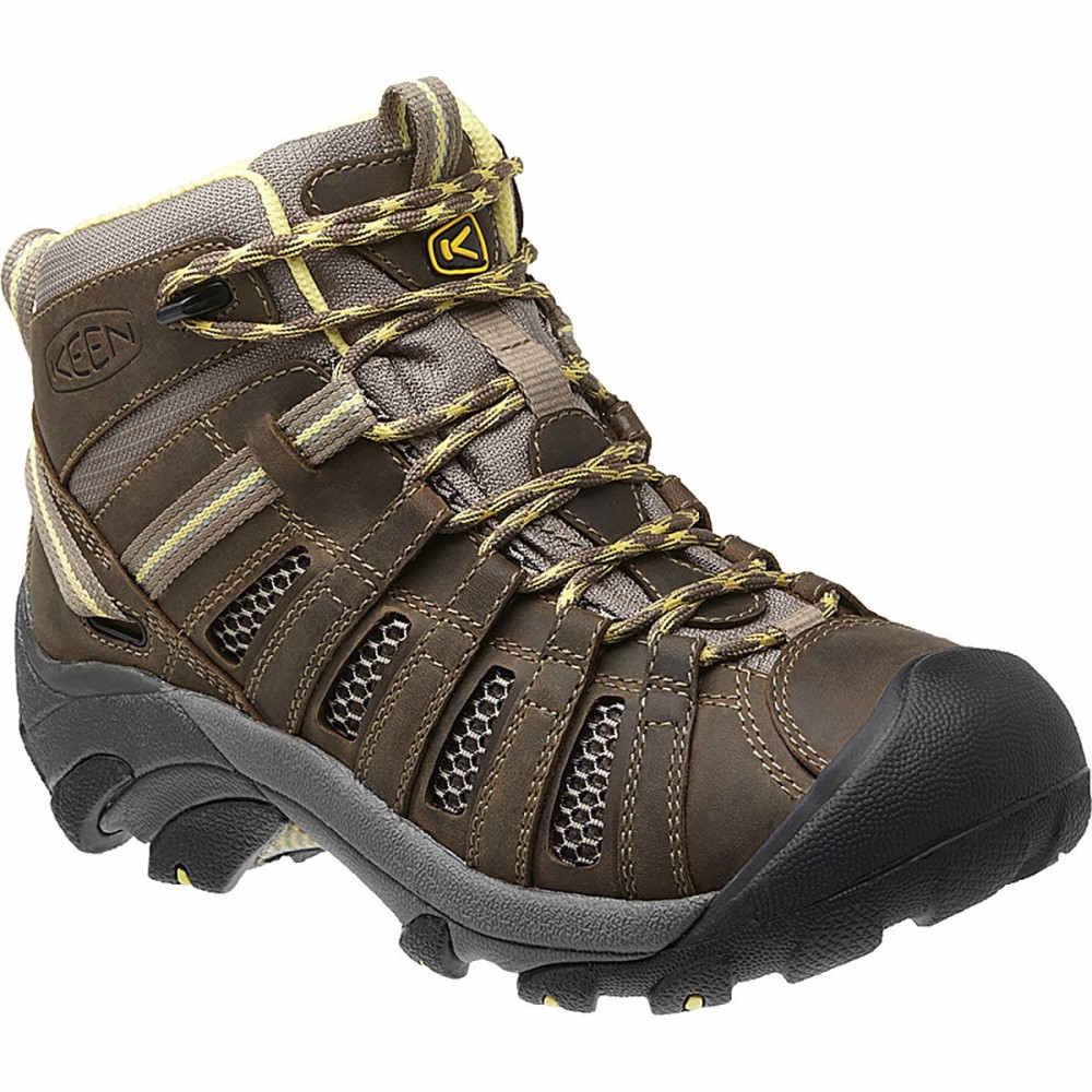 キーン KEEN レディース ハイキング シューズ・靴【Voyageur Mid Hiking Boot】Brindle/Custard