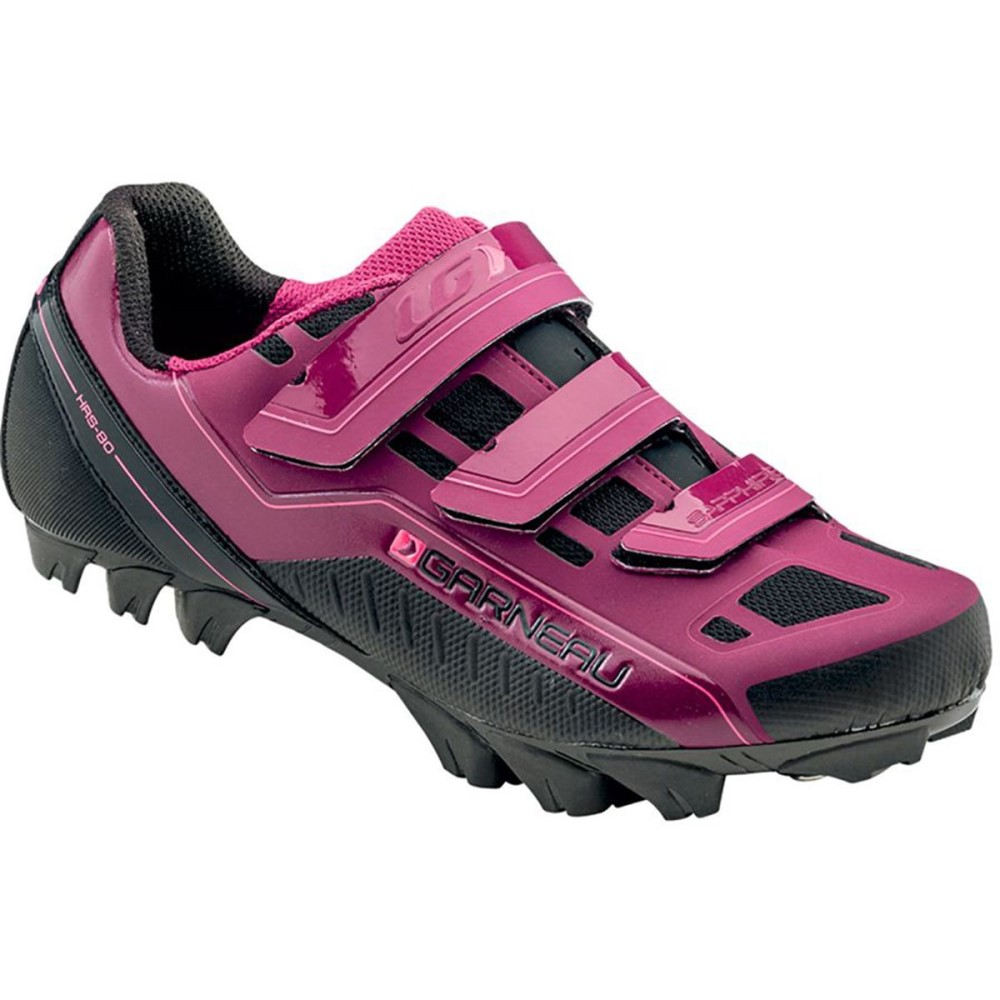 イルスガーナー Louis Garneau レディース 自転車 シューズ・靴【Sapphire Mountain Bike Shoe】Magenta Purple