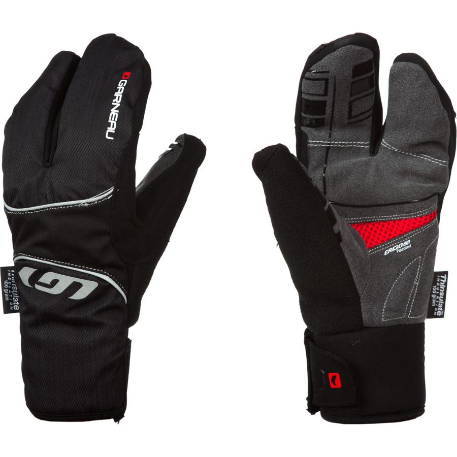 イルスガーナー Louis Garneau メンズ サイクリング グローブ【LG Super Shield Glove】Black