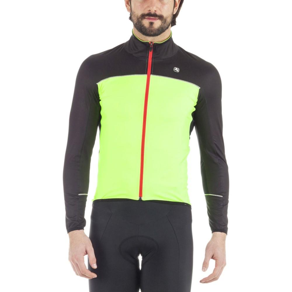 ジョルダーノ Giordana メンズ サイクリング ウェア【Fusion Winter Jacket】Fluo Yellow/Black