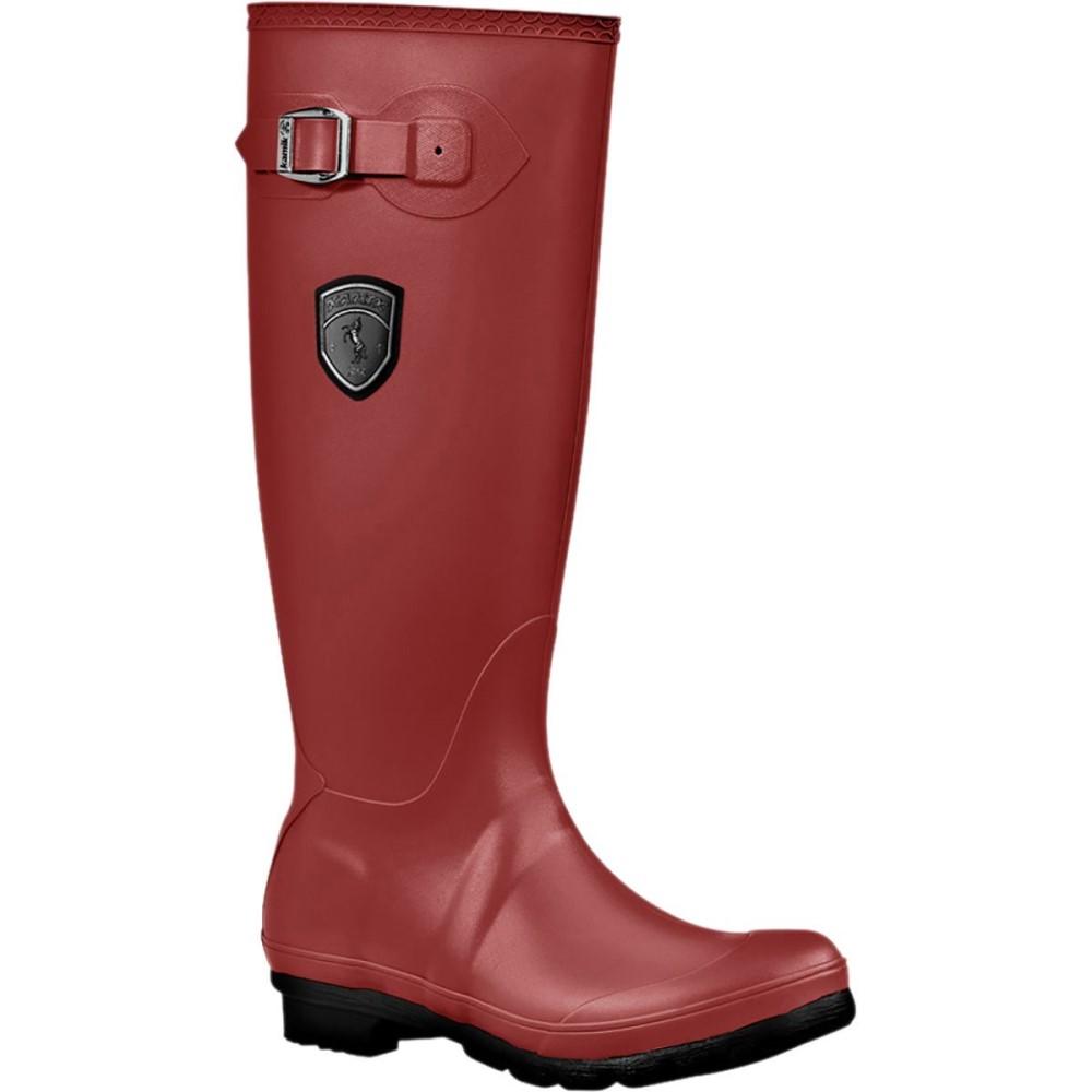 カミック Kamik レディース シューズ・靴 ブーツ【Jennifer Rain Boot】Rio Red
