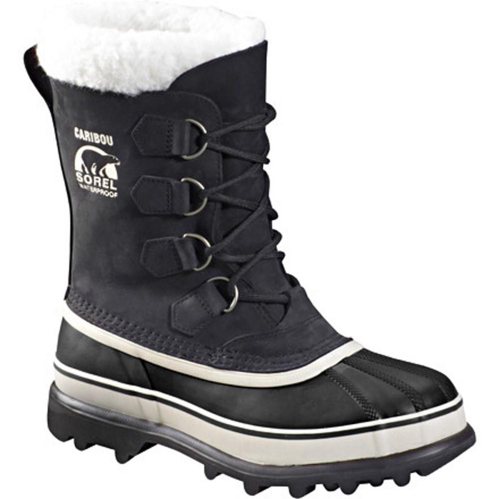 ソレル Sorel レディース スノー シューズ・靴【Caribou Boot】Black/Stone