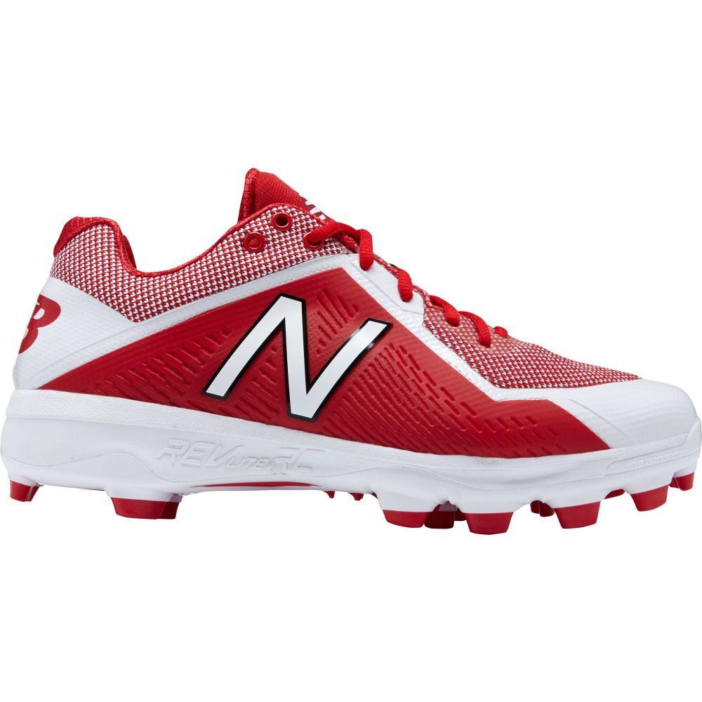 ニューバランス New Balance メンズ 野球 シューズ・靴【4040 V4 TPU Baseball Cleats】Red/White