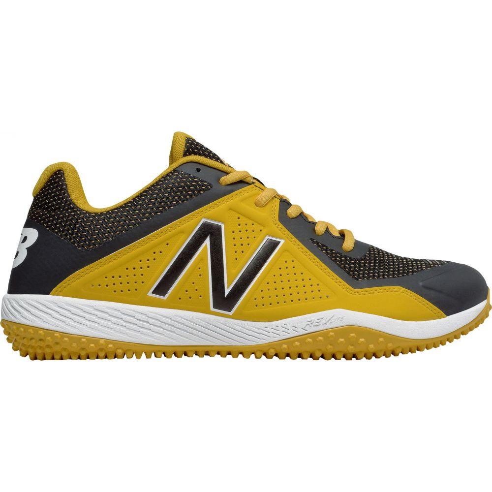 ニューバランス New Balance メンズ 野球 シューズ・靴【4040 V4 Turf Baseball Cleats】Yellow/Black