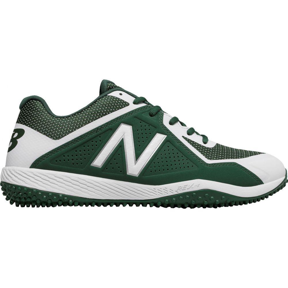 ニューバランス New Balance メンズ 野球 シューズ・靴【4040 V4 Turf Baseball Cleats】Green/White