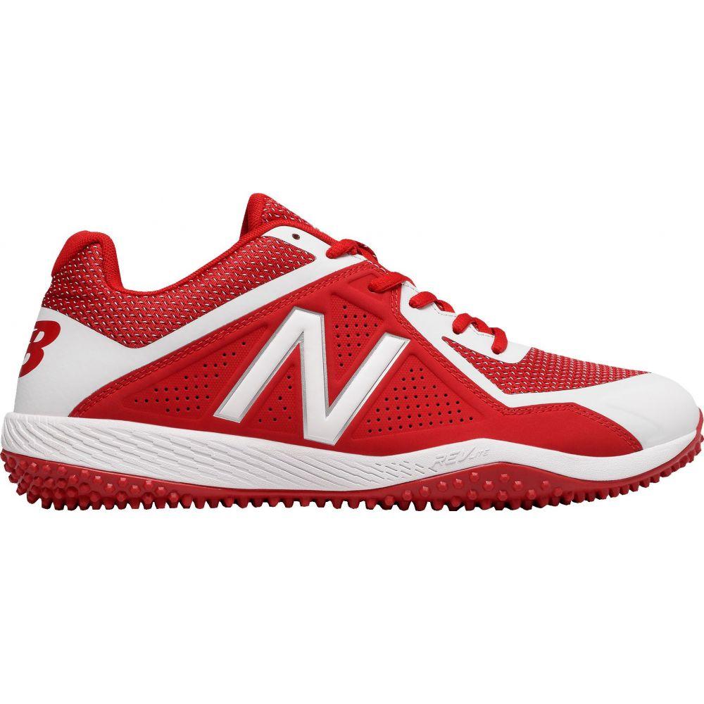 ニューバランス New Balance メンズ 野球 シューズ・靴【4040 V4 Turf Baseball Cleats】Red/White